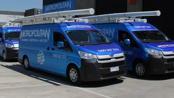 Metropolitan Plumbing Junction Vans Image