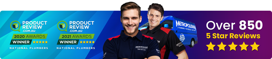 Metropolitan Plumbing - With over 600+ 5 Star reviews on Product Review, Metropolitan Plumbing is the name you can trust
