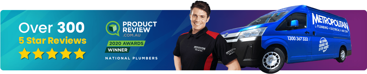 Metropolitan Plumbing Kooringal - With over 300+ 5 Star reviews on Product Review, Metropolitan Plumbing is the name you can trust