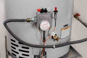 Storage hot water heater