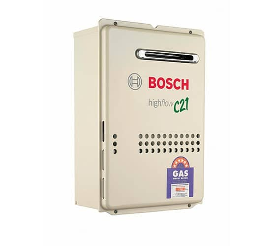 Bosch 21e Highflow Gas Hot Water System