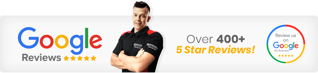 Metropolitan Plumbing Moorina - With over 400+ 5 Star reviews on Google Reviews, Metropolitan Plumbing is the name you can trust