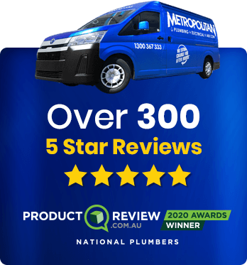 Metropolitan Plumbing Emerald - With over 300+ 5 Star reviews on Product Review, Metropolitan Plumbing is the name you can trust