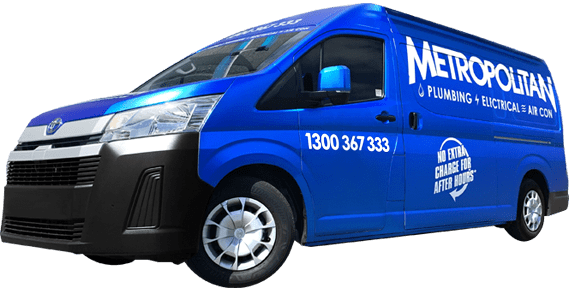 Metropolitan Plumbing Vans Available Now Image