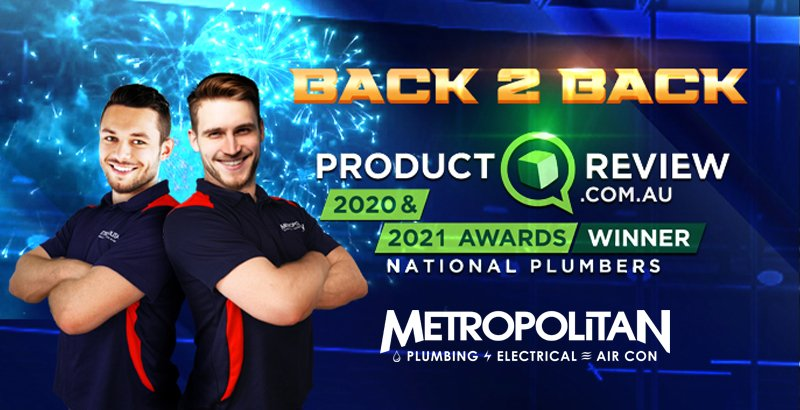 Metropolitan Plumbing Wins 2021 Product Review Award