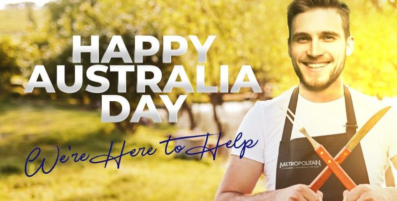 Australia Day Public Holiday Plumber